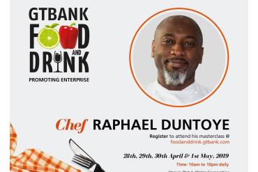 Countdown to the GTBank Food and Drink Masterclass: More Culinary Experts Announced