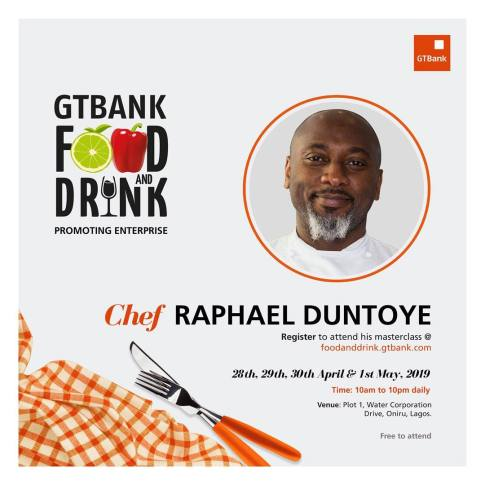56341703 1044881665715419 8521835621970702055 n - Countdown to the GTBank Food and Drink Masterclass: More Culinary Experts Announced