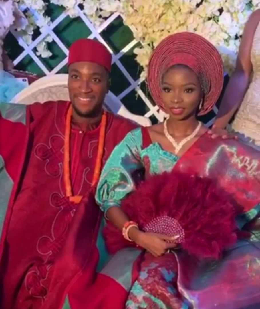 5cab47c39251c - [Photos]: Actor Akah Nnani's wedding to his sweetheart Claire Idera