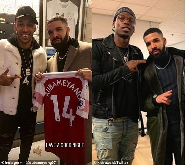 5cb570441352b - Football club ban all players from taking pictures with Drake [details inside]