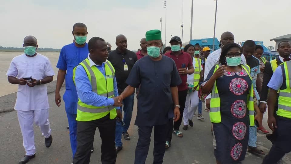 9142715 d3pl9crx4ae8ot jpeg jpeg74ceac9607cd05d2f64e33d5329cf740 - [Pictures] Governor-Elect Ihedioha Visits Imo Airport after Fire Outbreak