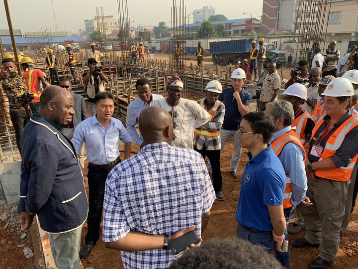 9143380 d3ncrxpwkaadche jpeg005a04b6b0ced3698a686cc3cb6c58d8 - Amaechi Visits Lagos-Ibadan Railway Construction Site [See Pictures]