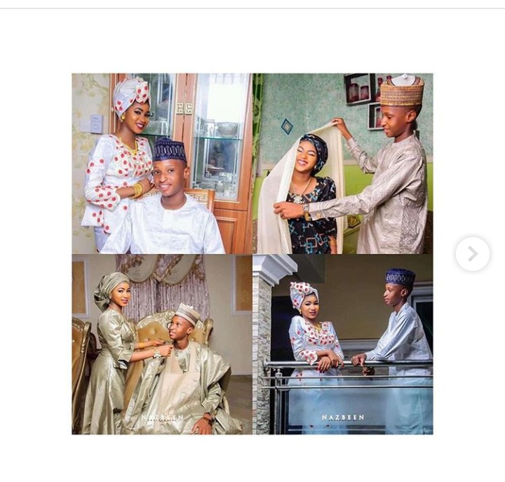 9180429 screenshot201904141259141 jpeg910073e167acc4300554abdac0aabebd - See Teenagers Pre-Wedding Pictures That Got Nigerians Talking