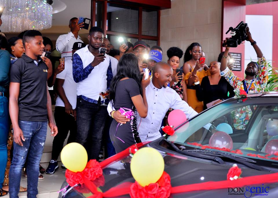 9186656 nigerianmanproposestohisgirlfriendwithabrandnewcarunclesuru4 jpegad4bb7adce135821f71d816563194d84 - [Pictures] Man Propose to a Lady with a Brand New Car
