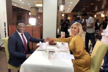 Tonto Dikeh Insults Estranged Husband, Olakunle Churchill, After Hanging Out With Amokaechi