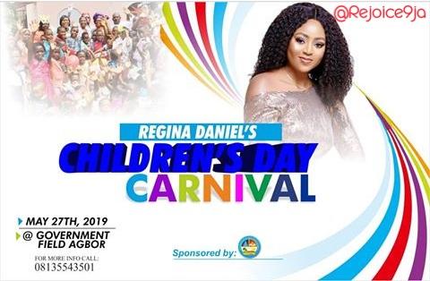 9266636 20190427020605 jpegc3bf44e41ce4138d36a232c6670ce0ac - Nollywood actress Regina Daniels set to host children's day program