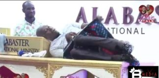 [Photos]: Oh wow! Pastor rocks sexy female lingerie to church