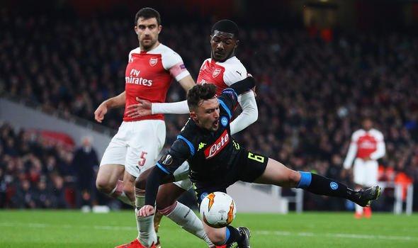 Arsenal vs Napoli Europa League LIVE score goals and updates 1823812 - Top 25 Highest Goal Scorers In Europa League