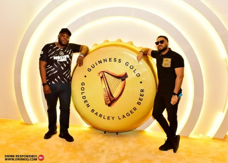 Bizzle Oshikoya and Illrymz 2 - Guiness Gold Launches In Style