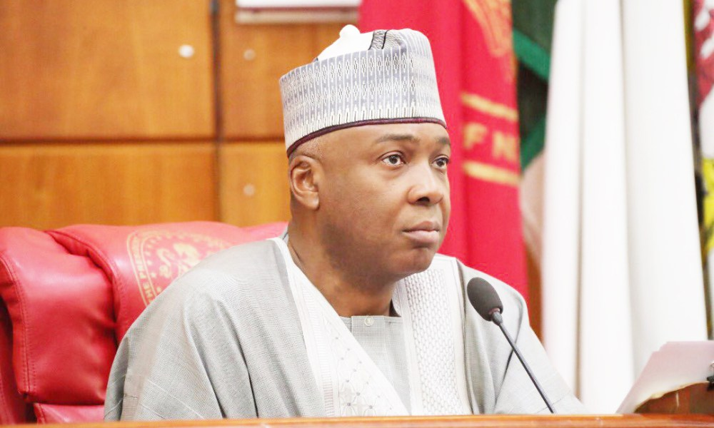 Bukola Saraki 1 1 - Just In: Saraki push for 2019 Budget Passage