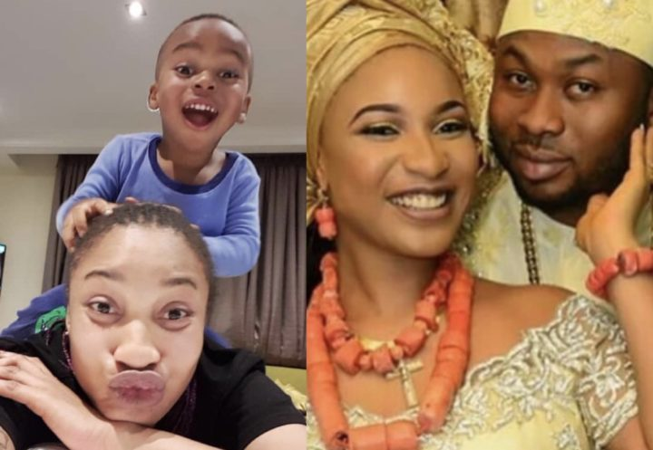 C1AB6451 C534 4F55 9B3D 3BA8A7E9DD5C - 'My son believes his father is dead' – Tonto Dikeh