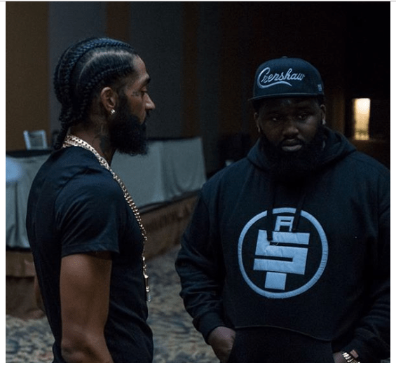 Capture 21 - Nipsey Hussle's Bodyguard Retires following rapper's murder