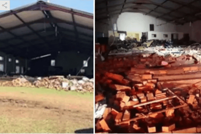 EASTER: Many dead as churches building collapses during service
