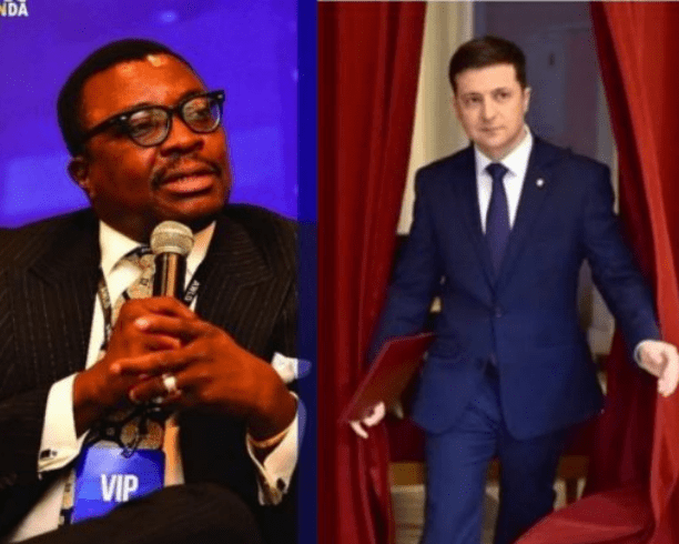 Capture 75 - See how comedian Ali Baba reacted to a comedian becoming president of Ukraine