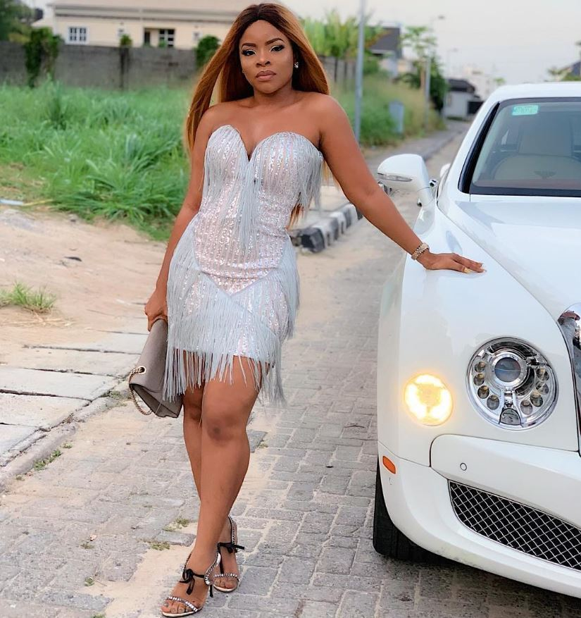Ikeji Sisters Bentley 7 - Blogger Linda Ikeji Hangs Out With Sister Laura Ikeji in Brand New Car [Pictures]
