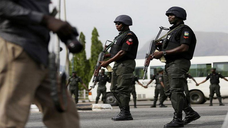 Nigeria Police - Video: Police in Abuja arrest women and girls over suspicions of prostitution, allegedly raped them with pure water bags