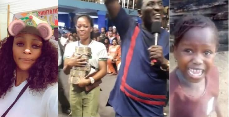 Stephanie Idolor gets N2million cash from Prophet Fufeyin Video - Lady Who Recorded Success's Viral Video, Stephanie Idolor Gets N2Million In Cash