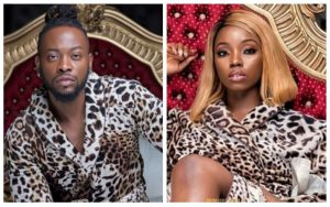 Teddy A and Bambam  - [Leaked Video]: Former BBNaija Housemate, Bambam, And Teddy A Spotted Kissing Passionately