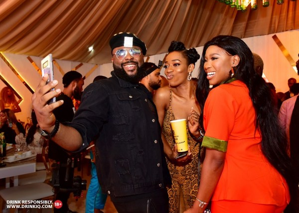 VJ Adams Destiny Amaka and Pearl Cardy 3 - Guiness Gold Launches In Style
