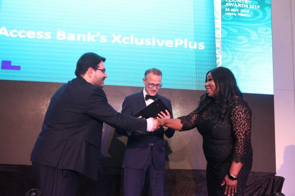 XCLUSIVE AWARD 3 - ACCESS BANK'S XCLUSIVEPLUS WINS BEST AFFLUENT BANKING INITIATIVE IN WEST AFRICA