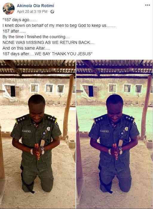 aa7a88a8a88as - Nigerian Soldier Celebrates in God's Presence After Fighting Insurgents