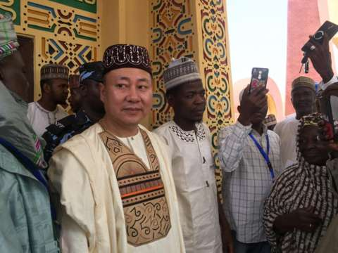 b7b5e021 8fbf 4648 a44e 04a46004cb57 - [Pictures]: Chinese Man Conferred Traditional Chieftaincy in Kano State