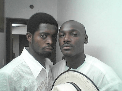basketmouth - Lol! See the throwback photo of Basketmouth and Tubaba that is causing a stir