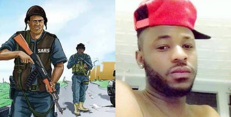 collage 1 - How Kolade Johnson Didn't Get Immediate Help After He Was Shot By SARS – Must Read Emotional Story