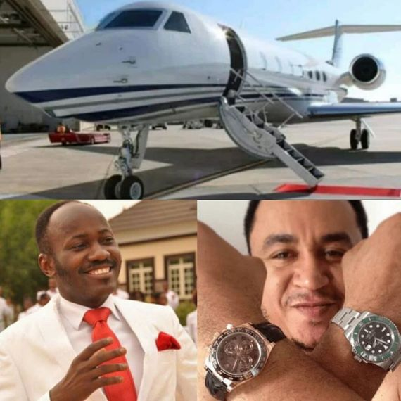 You're a spiritual ''MORON'' for asking Apostle Suleman how many people he has helped for buying a PRIVATE jet - Nollywood Actor Slams Daddy Freeze