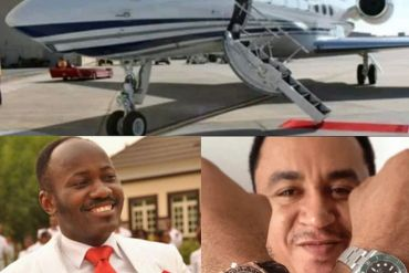 "You're a spiritual ""MORON"" for asking Apostle Suleman how many people he has helped for buying a PRIVATE jet – Nollywood Actor Slams Daddy Freeze"