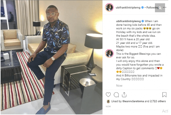 """mmg - """"Would Be Done Having Kids Before 40"""" – Ubi Franklin Says After Allegedly Impregnating His Staff"""