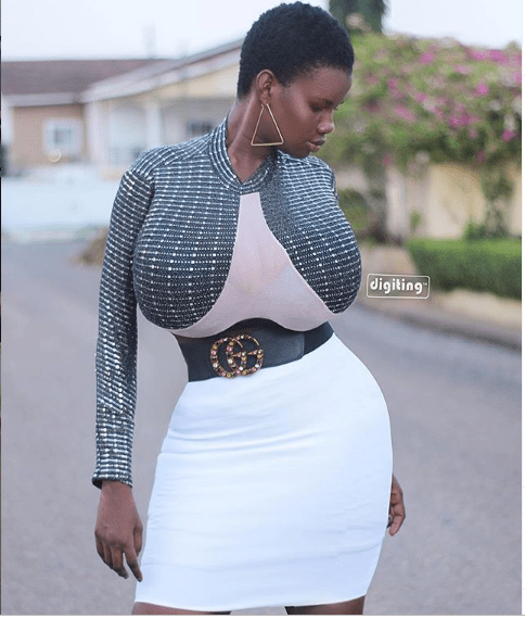 n - 'I had just one boob at age 16' – Boob mode Pamela Odame reveals