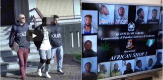 Italian police arrest 10 Nigerian drug dealers