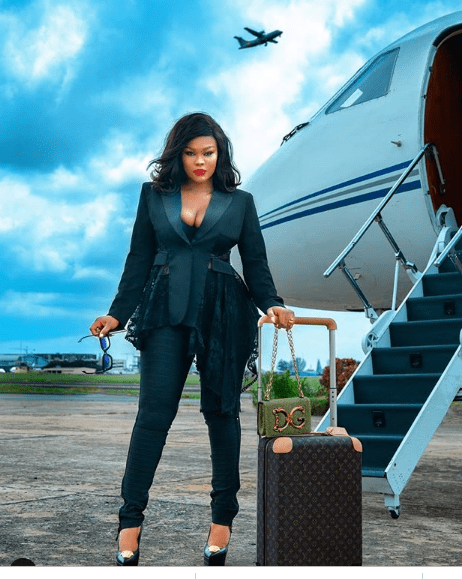 ppp - 'Bae owns a private jet' – Daniella Okeke brags