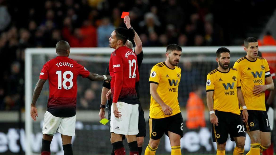 wolves and man u 1 - Manchester United To Sell Two Players For Laughing During Defeat To Wolves