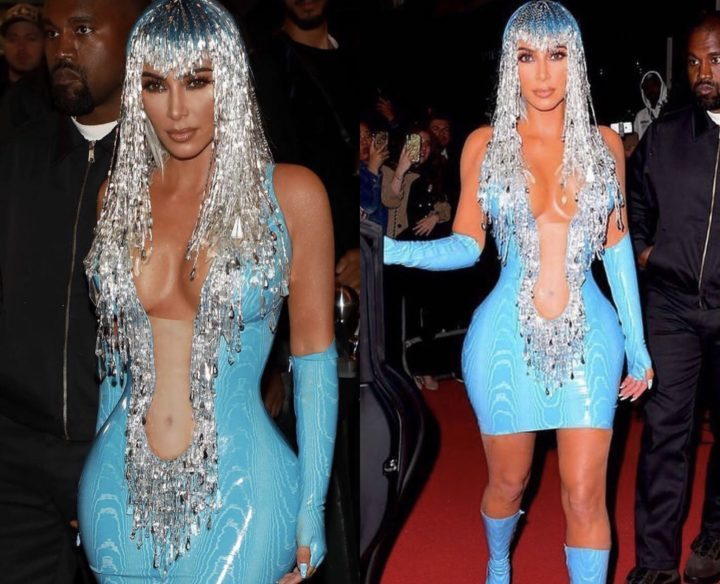 1 1 - [Photos]: Kim Kardashian looks unrecognizable to the 2019 Met Gala after party