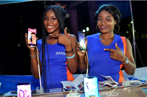 10 - Peruzzi, DJ Consequence & Qdot Thrill Fans at the TECNO Spark 3 Party