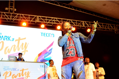 16 - Peruzzi, DJ Consequence & Qdot Thrill Fans at the TECNO Spark 3 Party
