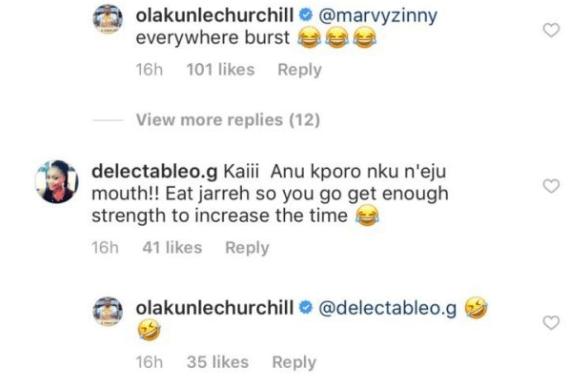 2 7 - Churchill comes for Tonto Dikeh again?