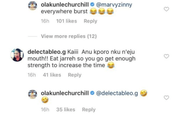 2 7 - Churchill comes for Tonto Dikeh again?