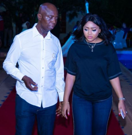 3 - [Photos]: Regina Daniels steps out with her husband and his kids