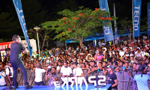 3 - Peruzzi, DJ Consequence & Qdot Thrill Fans at the TECNO Spark 3 Party