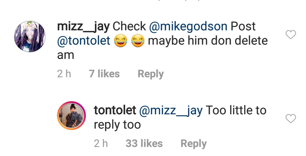 5ccaab7dcdca0 - 'He is too little for me to reply to' – Tonto Dikeh on Mike Godson's shade