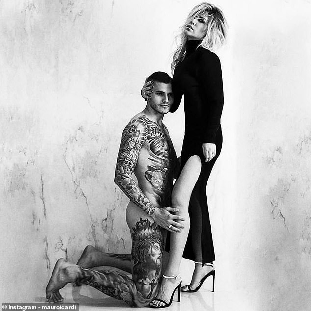 5ccadbfa133ff - Inter Milan, striker Mauro Icardi poses completely naked in x-rated photo