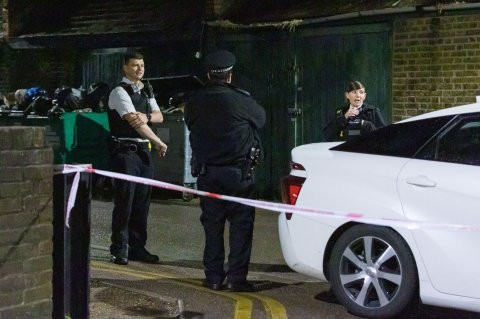 Masked gunmen open fire at a London mosque during Ramadan prayers