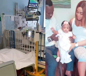 5cd7c98c18a8e - 'I forgive him for not being here to love you'- Ehi Ogbebor says as she celebrates daughter's 1st birthday