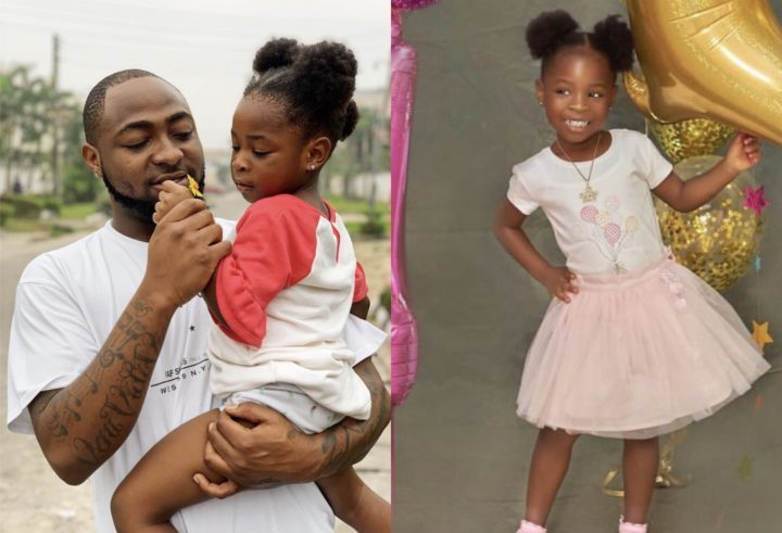 77D16D78 36BB 49E3 ACEC 8C7F6773ADF8 - 'You changed my life' – Davido celebrates the love of his life as she turns 4
