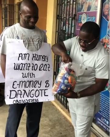9386310 kd   2 jpeg846b58f101a5729155ce2223a9d5b247 - Finally! Man Who Wants To Dine With Dangote, E-Money Meets Dangote