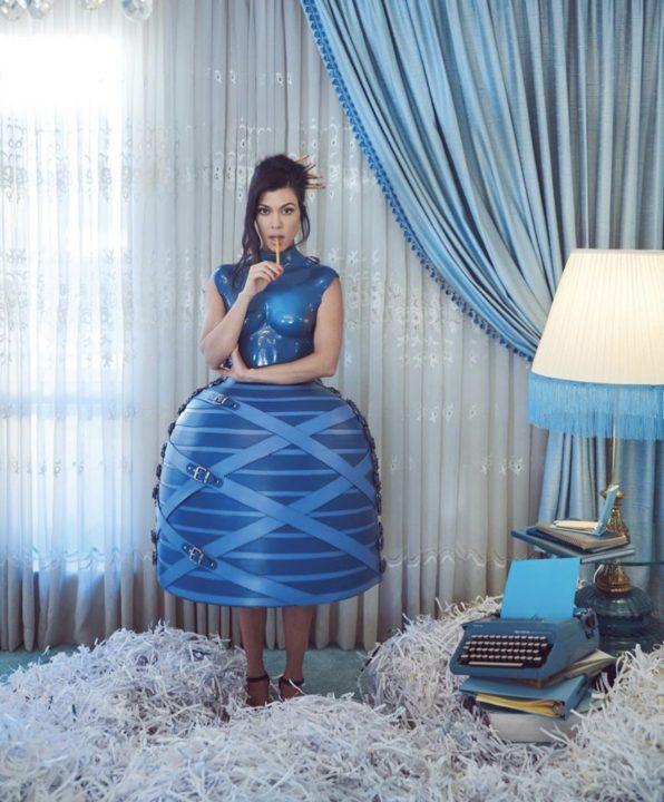 [Photos]: Kourtney Kardashian stuns for Paper Magazine