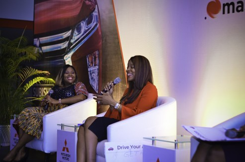 Abosede George Ogan and Ijeoma Agboti Obatoyinbo - Mitsubishi Motors and She Leads Africa come together to support women in Nigeria's corporate world